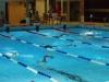 Stunden Schwimmen Halle